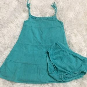 Teal Infant 👗 w/ bloomers